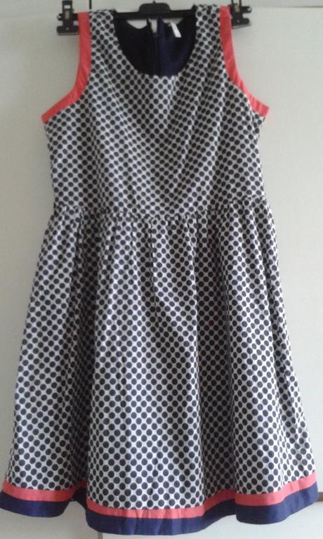 Bodkované spoločenské/letné šaty - Obrázok č. 1