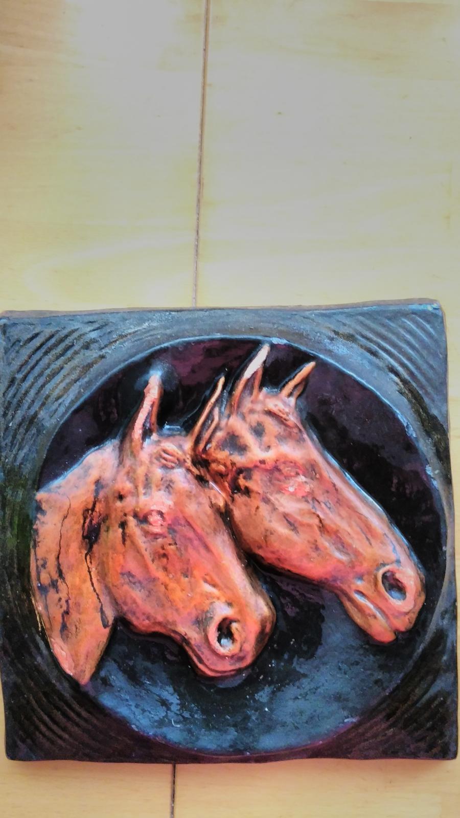 obraz 2 kone - Obrázok č. 1