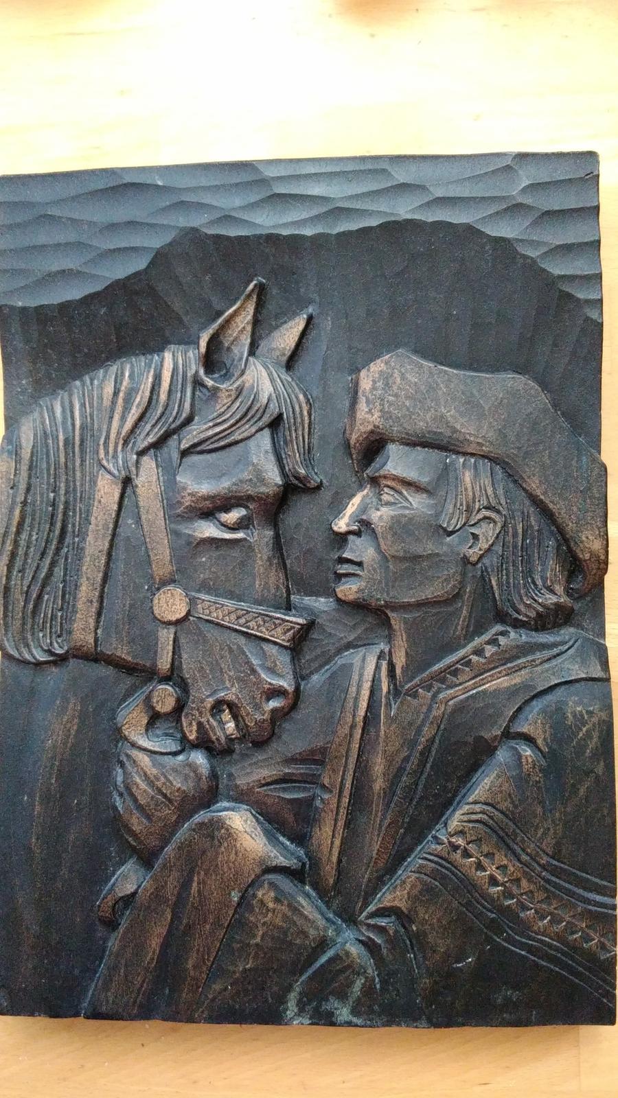 obraz kon a jazdec - Obrázok č. 2