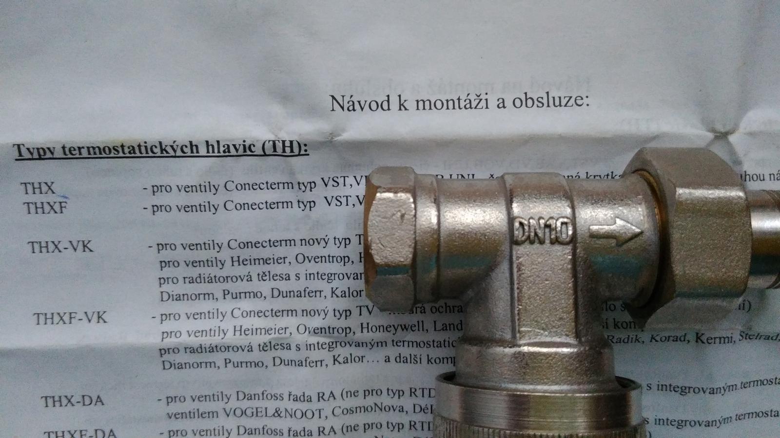 termostaticka hlavica - Obrázok č. 2