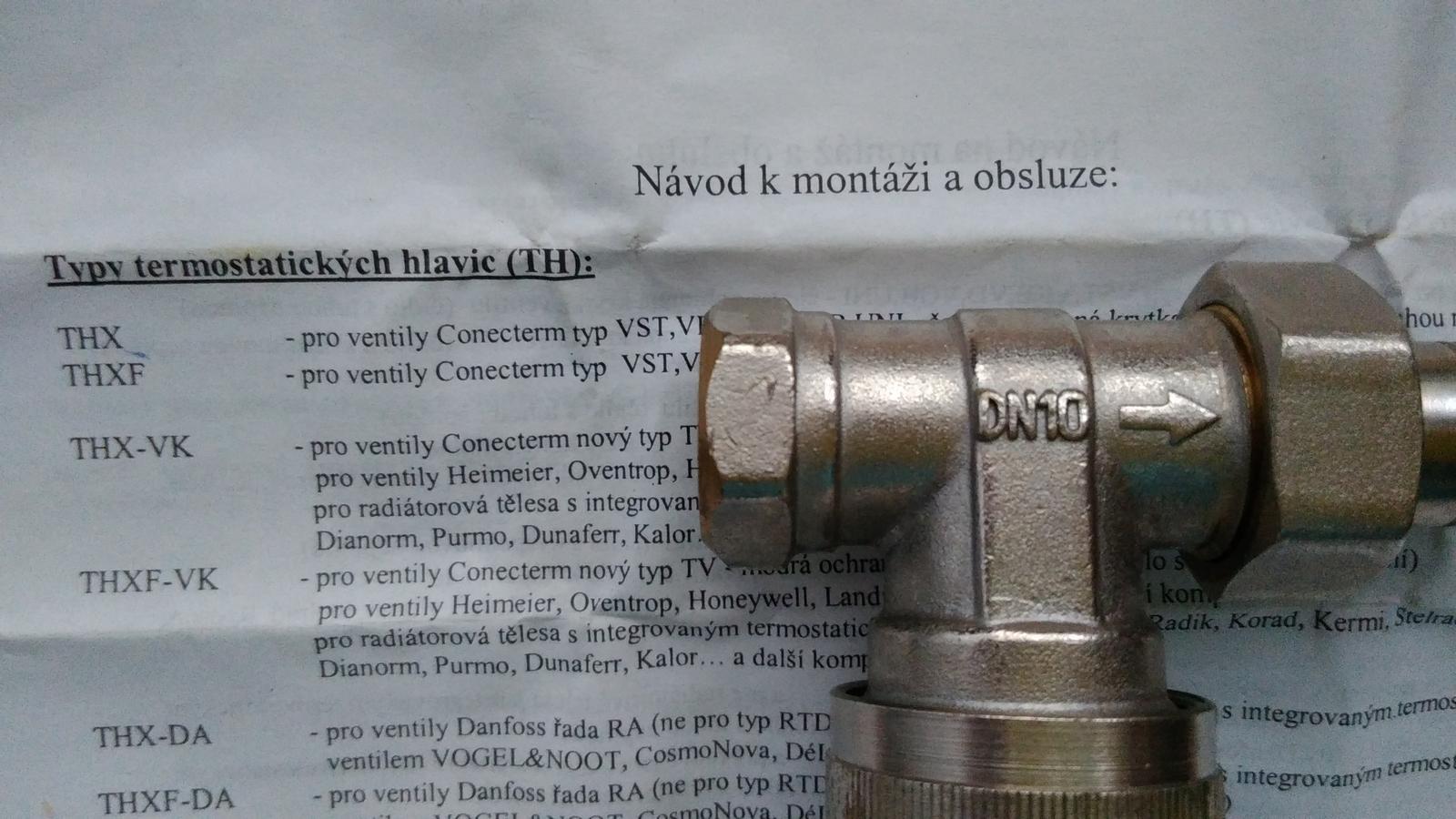 termostaticka hlavica - Obrázok č. 3