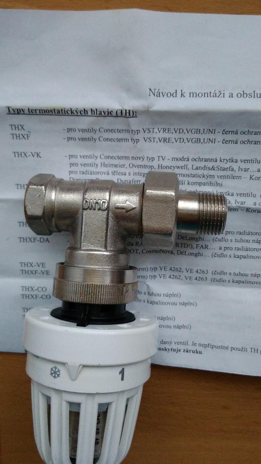 termostaticka hlavica - Obrázok č. 4