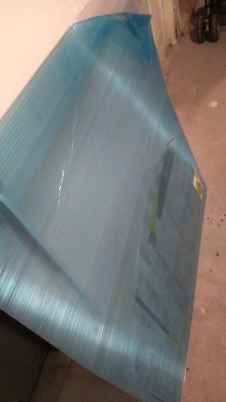 Konštrukcia na striešku s lexanom - Obrázok č. 1