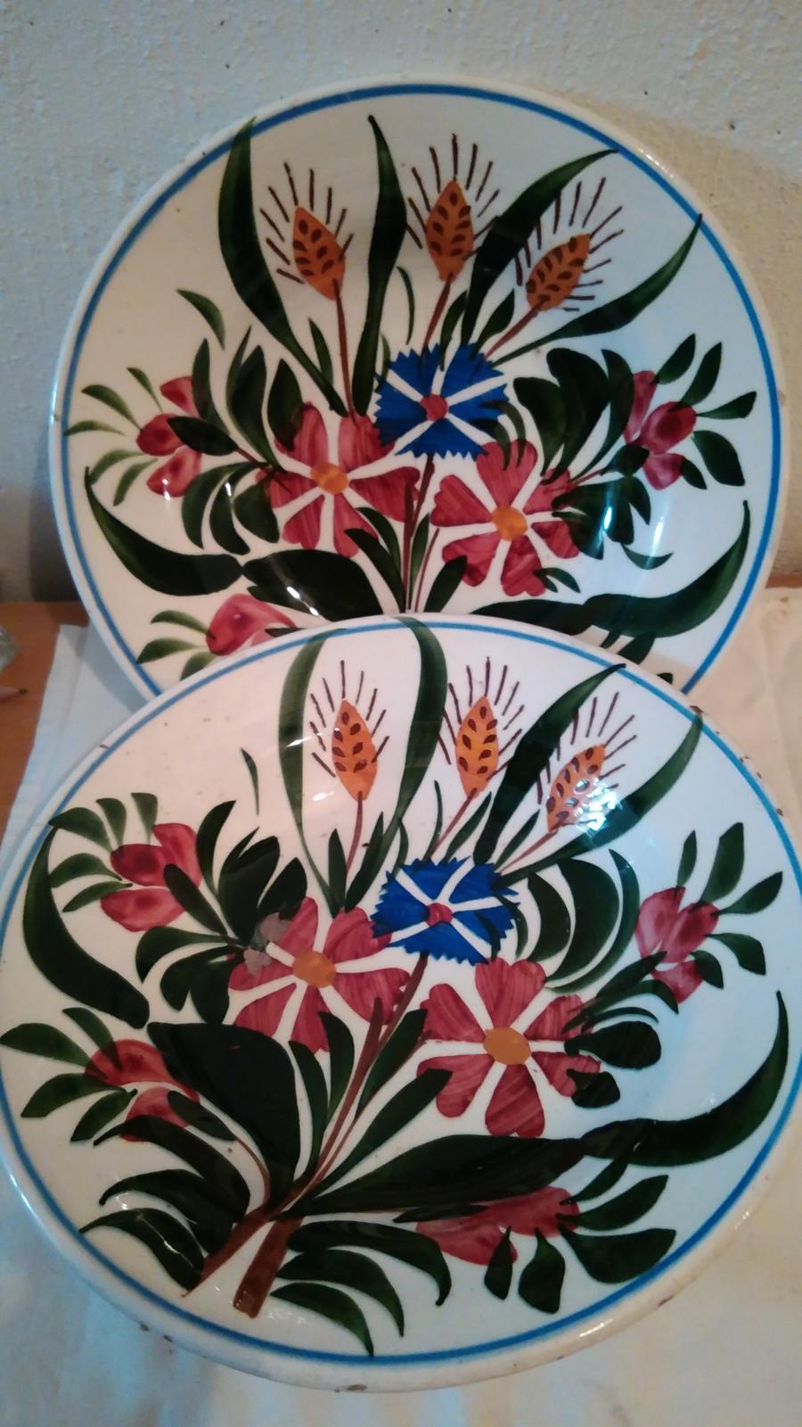 tanier maľovaný lúčne kvety - Obrázok č. 1