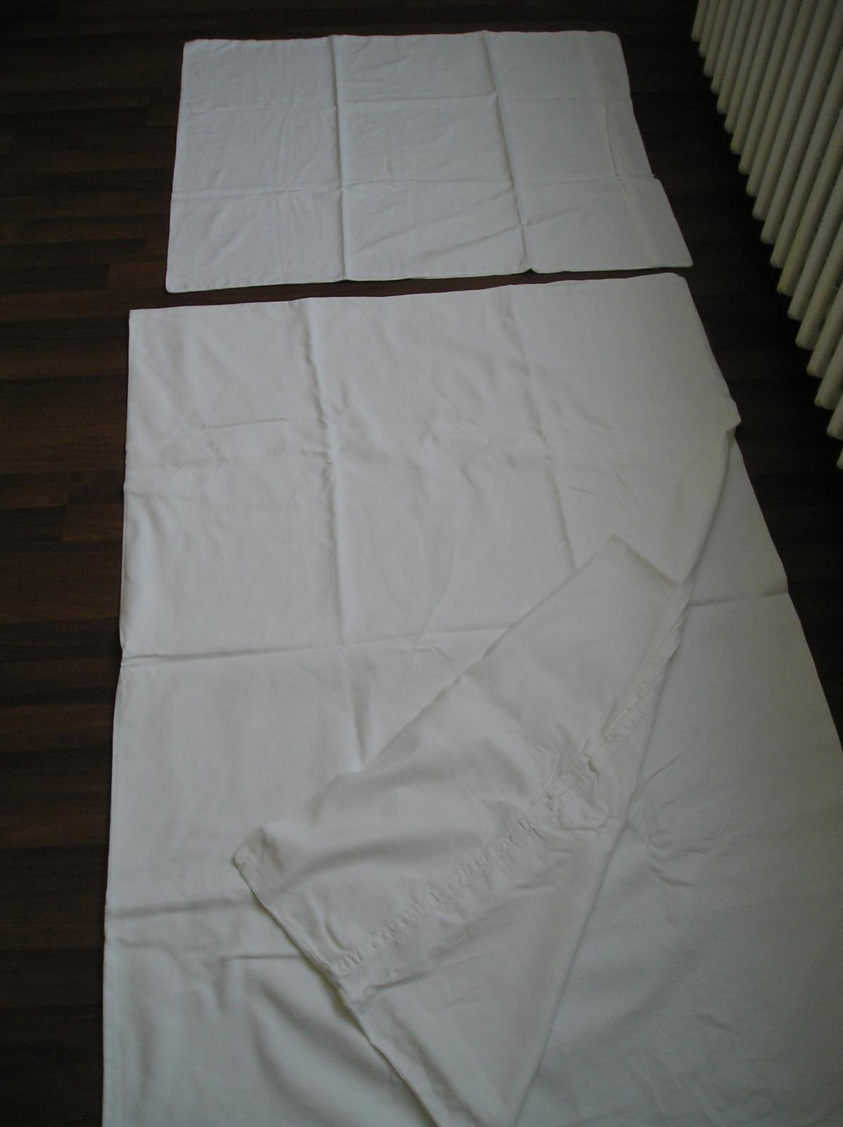 obliečky biele - Obrázok č. 1