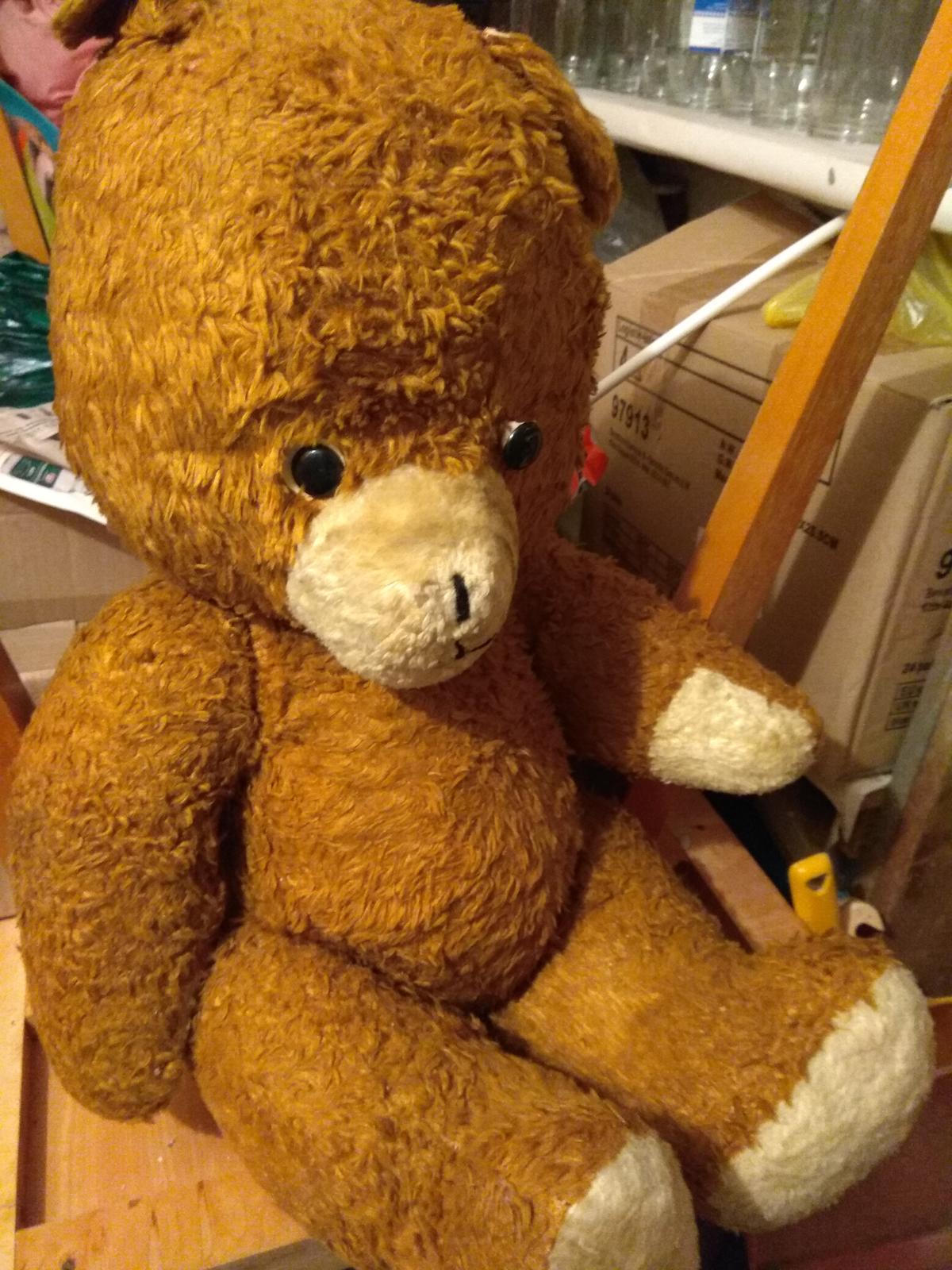 retro medveď - Obrázok č. 1