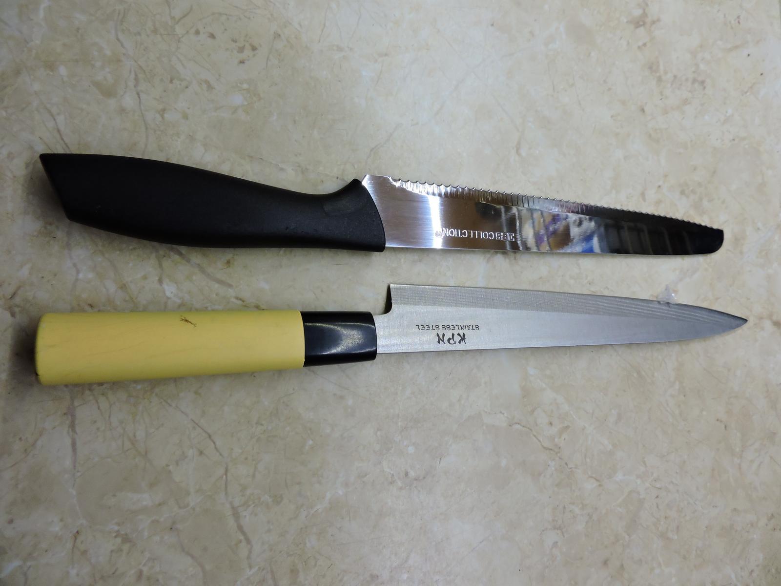 nože z nerezovej ocele 2 kusy - Obrázok č. 1