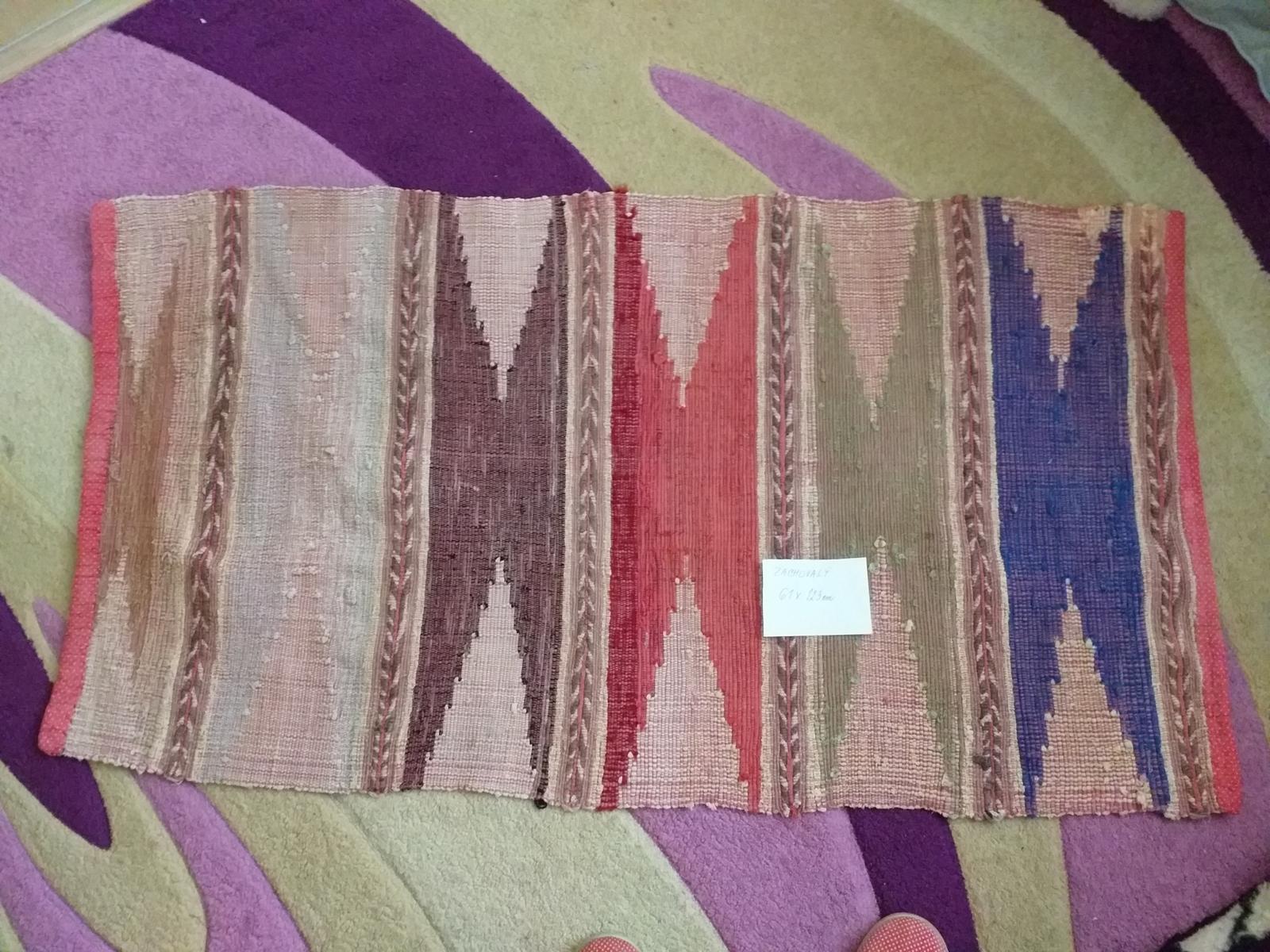 koberec ručne tkaný 61x123 - Obrázok č. 1