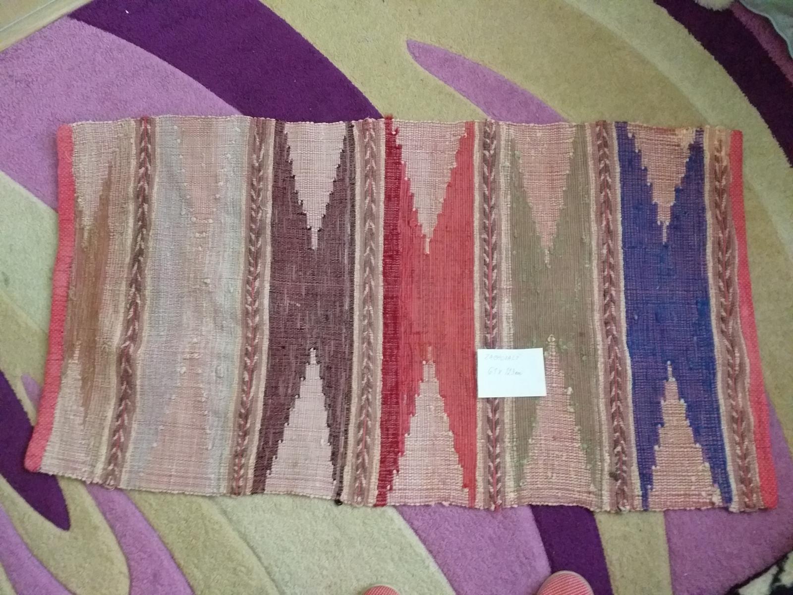 koberec ručne tkaný 61x123 - Obrázok č. 2