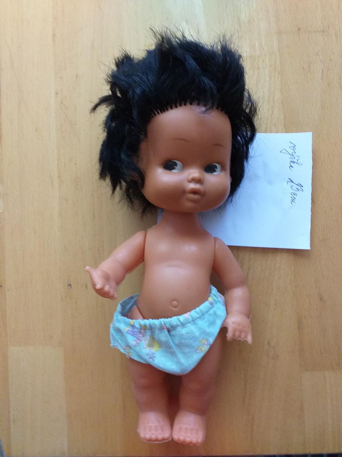 bábika tmavá - Obrázok č. 1