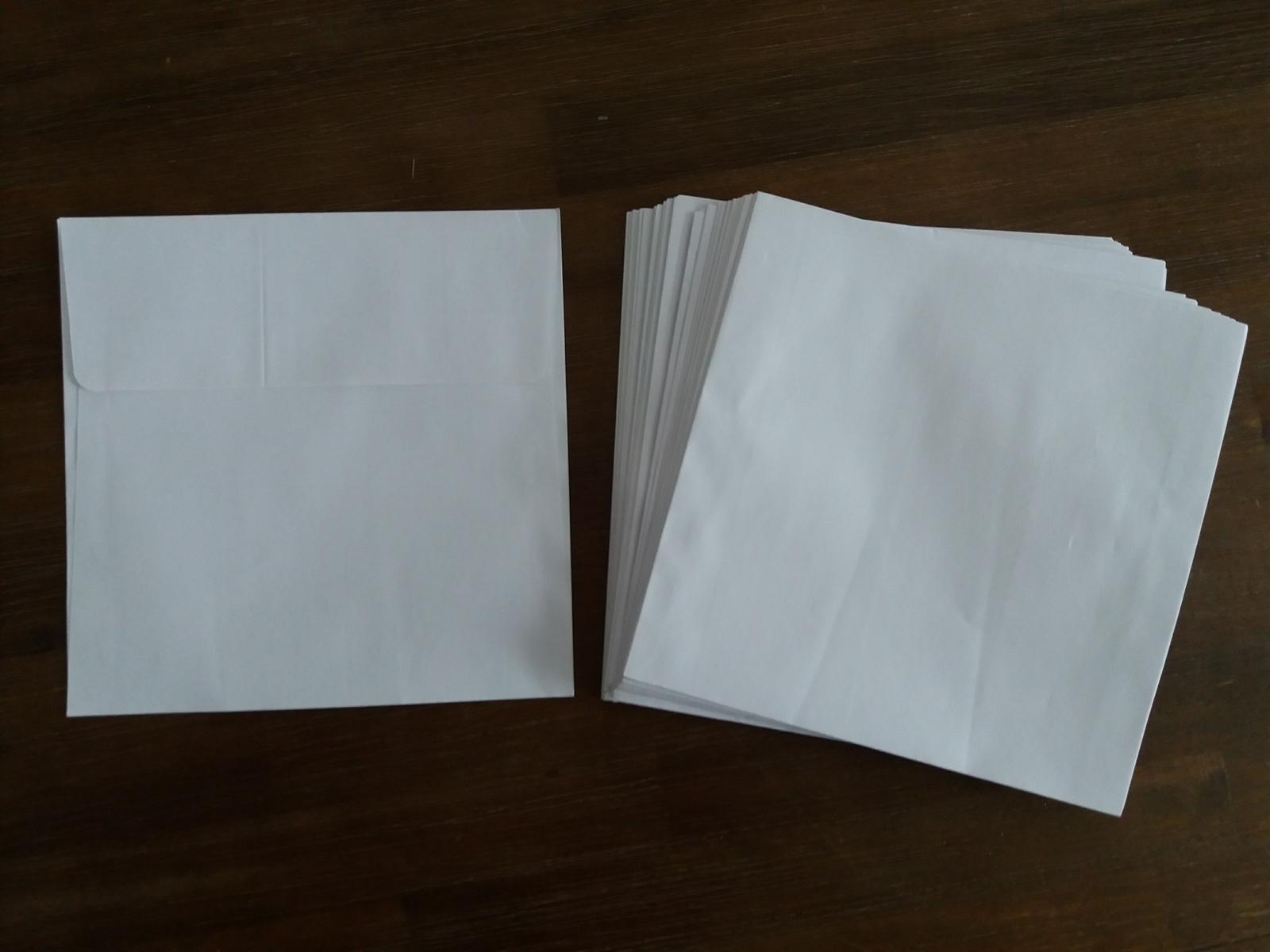 Bílá svatební obálka. - Obrázok č. 1