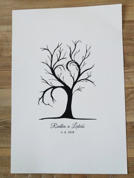 Svatební strom formát pdf. - Obrázek č. 1