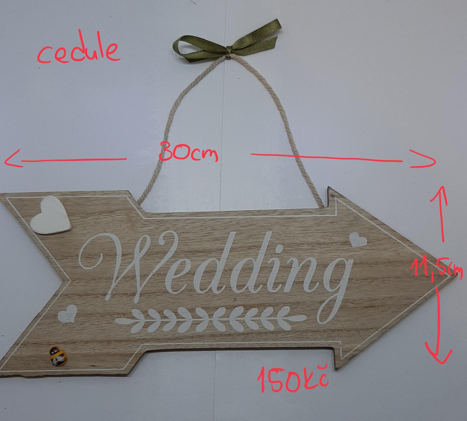 """Cedule """"Wedding"""" - Obrázek č. 1"""