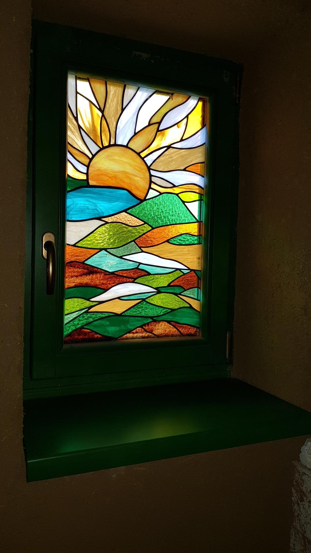 Hlinená chalupa a jej premeny, part 3 Výmena strechy, okien a vitráže - Obrázok č. 19