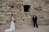 svatební šaty s vlečkou Madora , 38