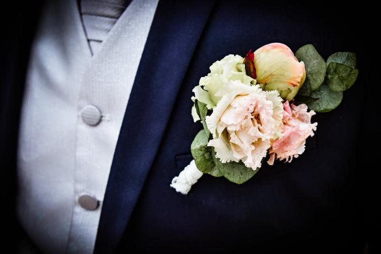 Šedá/stříbrná luxusní svatební pánská vesta - Obrázek č. 1