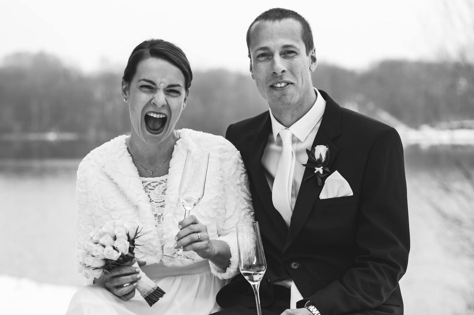 Svatební den, Sylva a Jiří Scheibinger - Obrázek č. 2