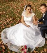 Princeznovské svadobné šaty , 40