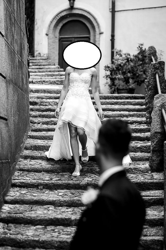 kratke/asymetricke svadobne saty z Talianska/Milana - Obrázok č. 4