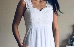 těhotenské antické svatební šaty vel. Xl_XXL - Obrázek č. 1