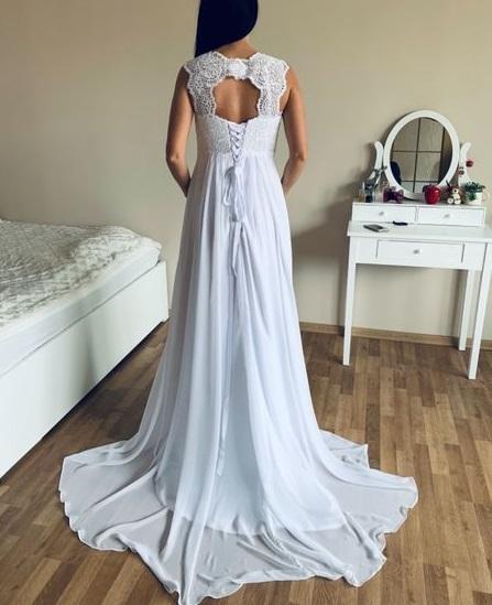 nové svatební těhotenské šaty s-xl - Obrázek č. 3