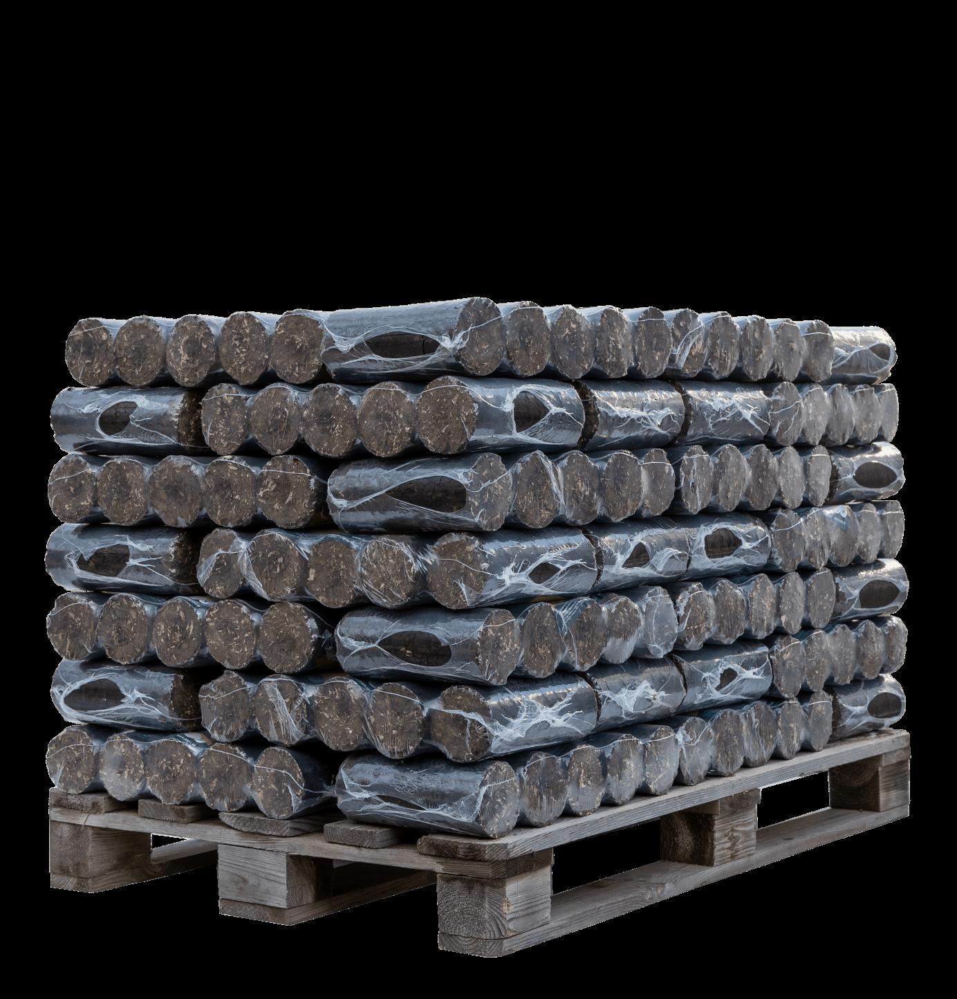 Nočné brikety - 500 kg na palete - Obrázok č. 1