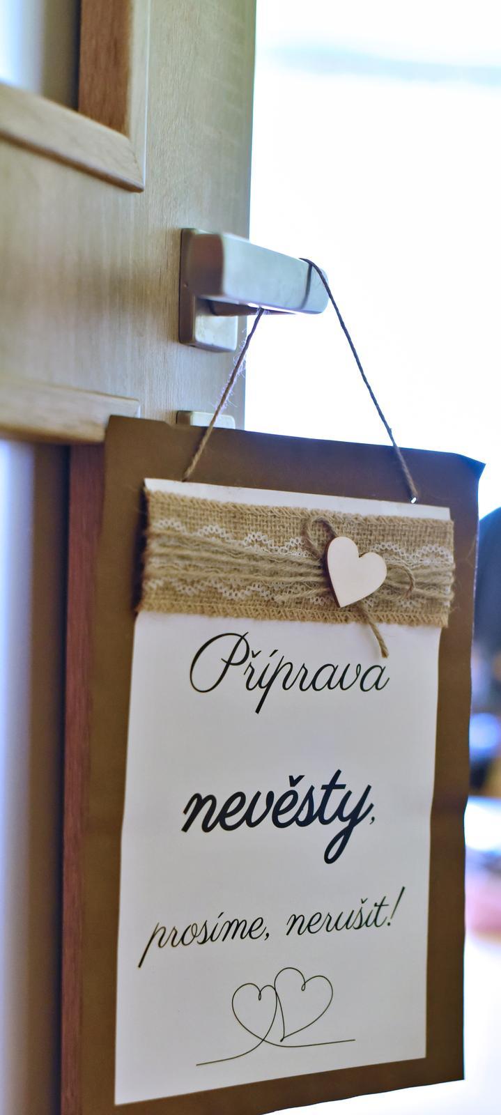 Příprava nevěsty + příprava ženicha - Obrázek č. 1