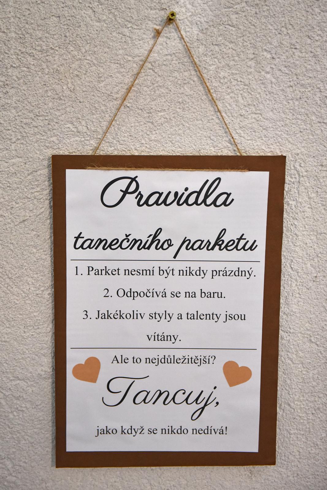 Pravidla tanečního parketu - Obrázek č. 1