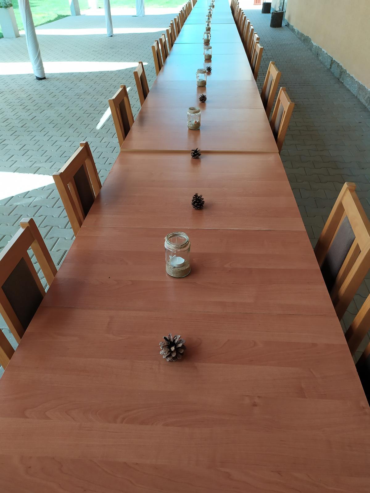 Skleničky s pískem a svíčkou - Obrázek č. 1