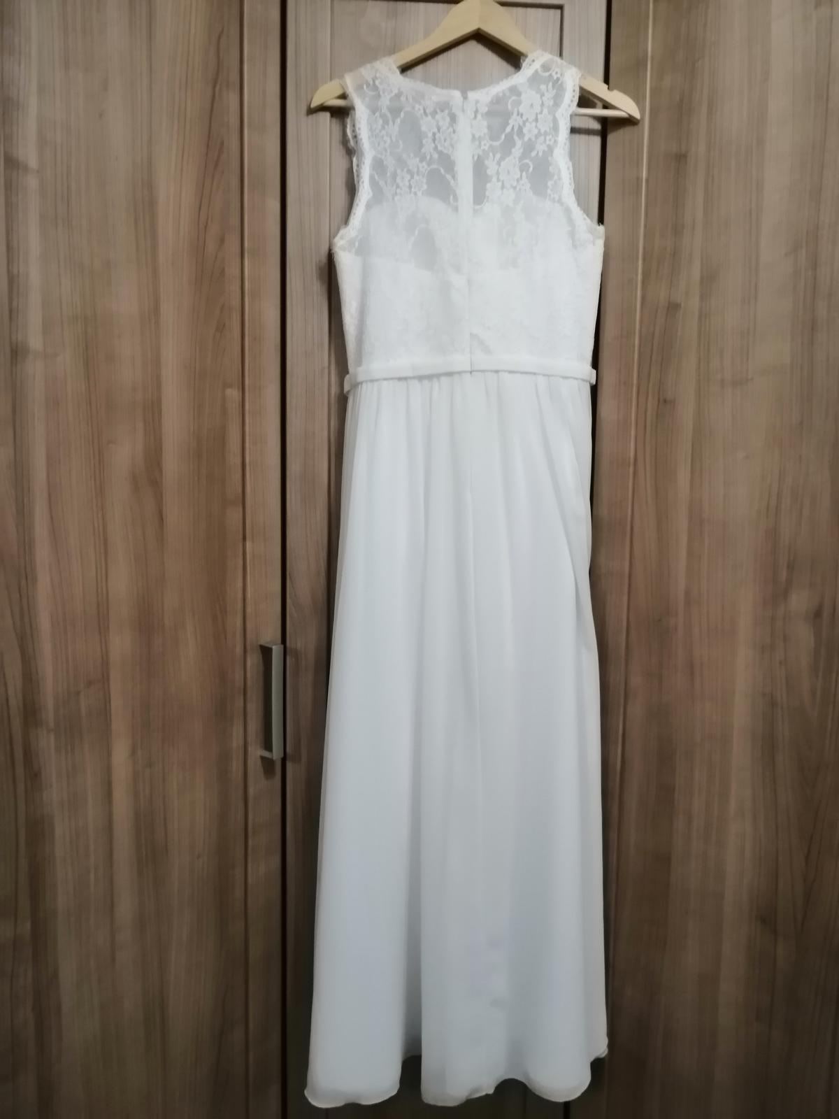 Svatební šaty - lehké boho styl - Obrázek č. 1