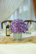 hortenzie - môj kvetinový výber, vrátane kúpy váz