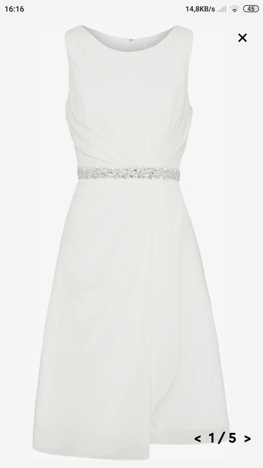 Svatební šaty MASCARA - Obrázek č. 1