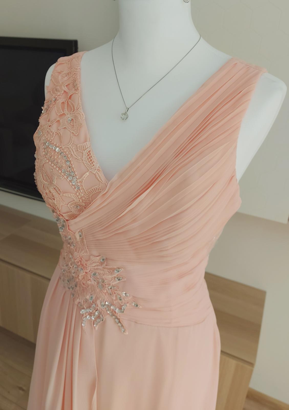Dlhé spoločenské šaty od francúzskej značky Eva & Lola - Obrázok č. 1