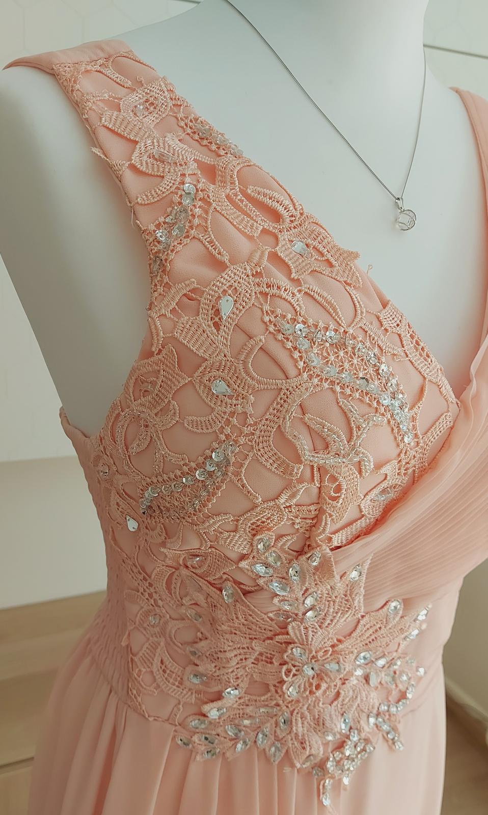 Dlhé spoločenské šaty od francúzskej značky Eva & Lola - Obrázok č. 2