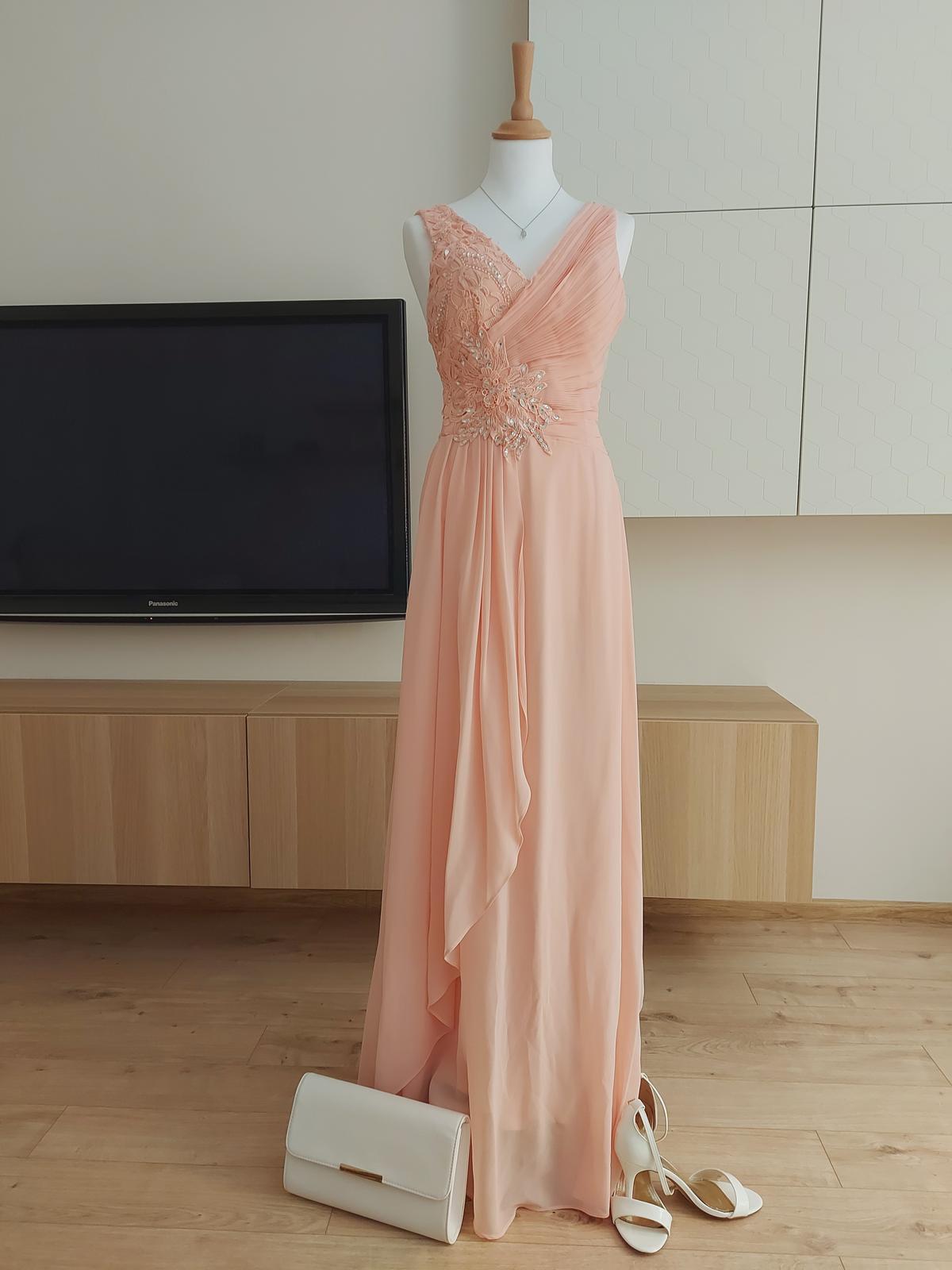 Dlhé spoločenské šaty od francúzskej značky Eva & Lola - Obrázok č. 3