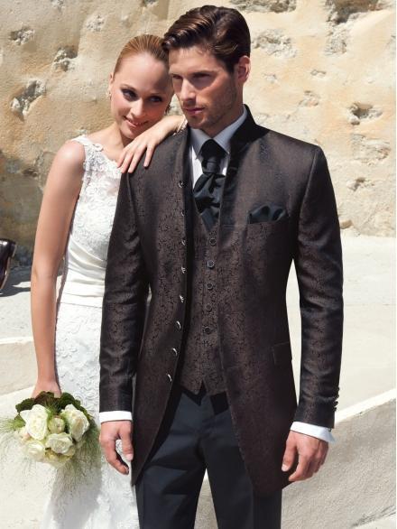 Predám  svadobný oblek ( zaket) Wilvorst - Obrázok č. 1