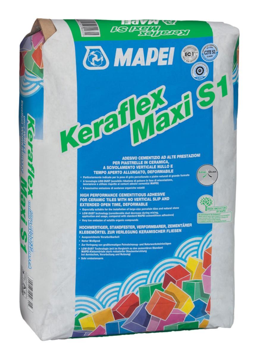 Mapei Keraflex maxi S1 Low Dust šedá 25 kg - Obrázok č. 1