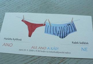 To nepotřebuje komentář. i když kamarádka povídala, že obdržela jakousi reklamu na spodní prádlo ...
