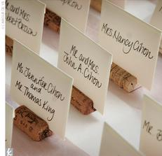 Špunty nařezané, jmenovky vytištěné...:-)