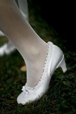 moje topanocky - boli site na mieru, tancovalo sa v nich perfektne