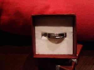 ...a už mám i prstýnek....