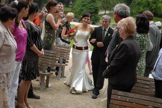 ...a je to tady, nevěsta už hooodně nervózní :o)