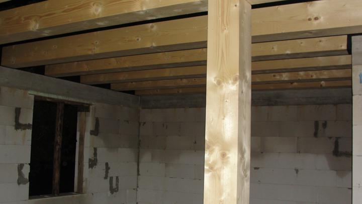 Náš  domček  - krok za krokom - Drevený statický prvok.