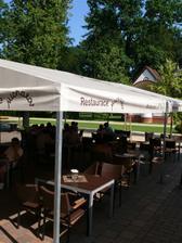 Přerov, restaurace Michalov - zahrádka