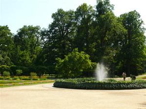 Přerov, park Michalov, kde je přímo restaurace Michalov