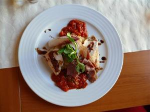 Přerov, restaurace Michalov - vyborná kuřecí prsa