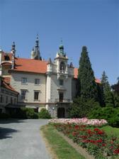 Praha Průhonice, zámek, obřad
