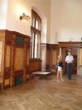 Praha Průhonice, zámek, obřadní síň