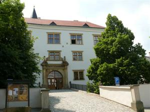 Přerov, zámek - muzeum J A Komenského