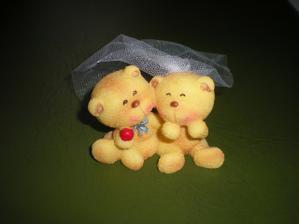 naši medvídci na dort